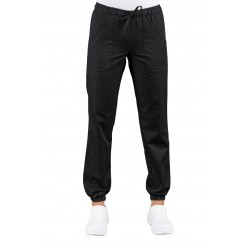 PANTALON BLACK WITH ELASTIC WOMAN