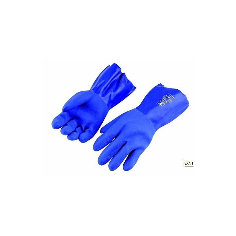 GANTS GUY COTTEN BN 30 BLUE