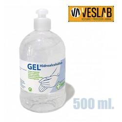 GEL HIDROALCOHÓLICO 500 ml.
