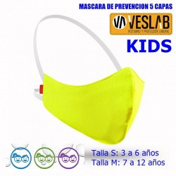 PREVENTION MASK 5 LAYERS FOR KIDS
