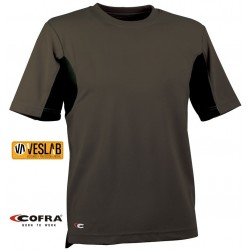 T-SHIRT MANCHES COURTES COFRA GUADALUPA