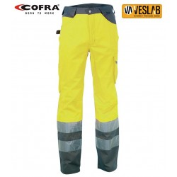 COFRA HIGH VISIBILITY LIGHT TROUSERS