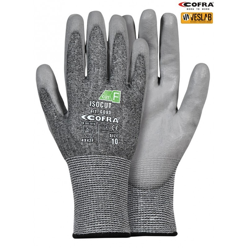 COFRA ISOCUT CUT PROTECTION GLOVES