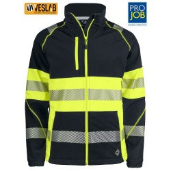 EN ISO 20471 CLASS 1 HIGH VISIBILITY SOFTSHELL