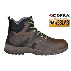 COFRA PUSHPRESS BROWN S3 SRC SAFETY SHOES