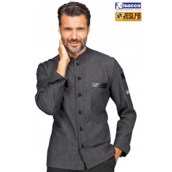 ISACCO KOEN JEANS LIGHT STRETCH JACKET LONG SLEEVES