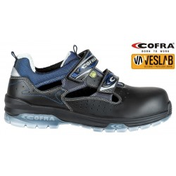 COFRA JUNGLE BLACK S1 P ESD SRC SAFETY TRAINERS
