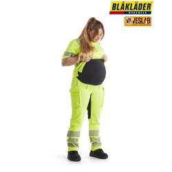 HIGH VISIBILITY MATERNITY TROUSERS STRETCH 4D