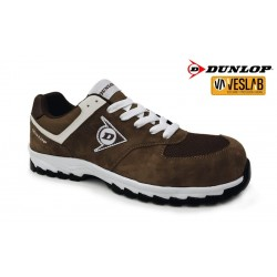 DUNLOP FLYING ARROW SAFETY SHOES BROWN