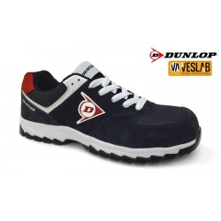 DUNLOP FLYING ARROW SAFETY SHOES BLACK/RED