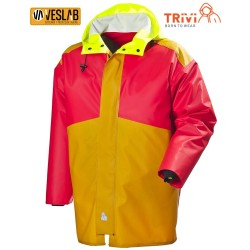 RED NEW BICOLOR RNP FISHER JACKET