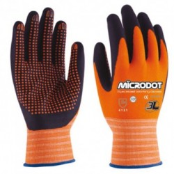 GLOVES MICRODOT WX-666