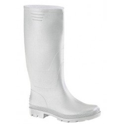 WATER WHITE BOOTS PVC
