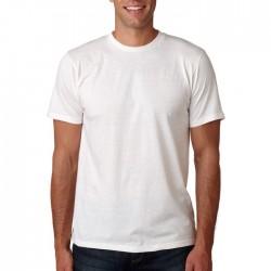 SHORT SLEEVE WHITE T-SHIRT MAN 100% COTTON