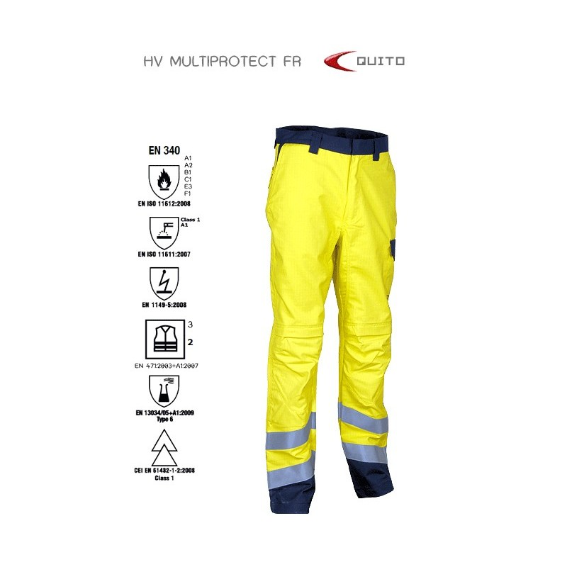 PANTALÓ COFRA MULTIPROTECTOR QUITO