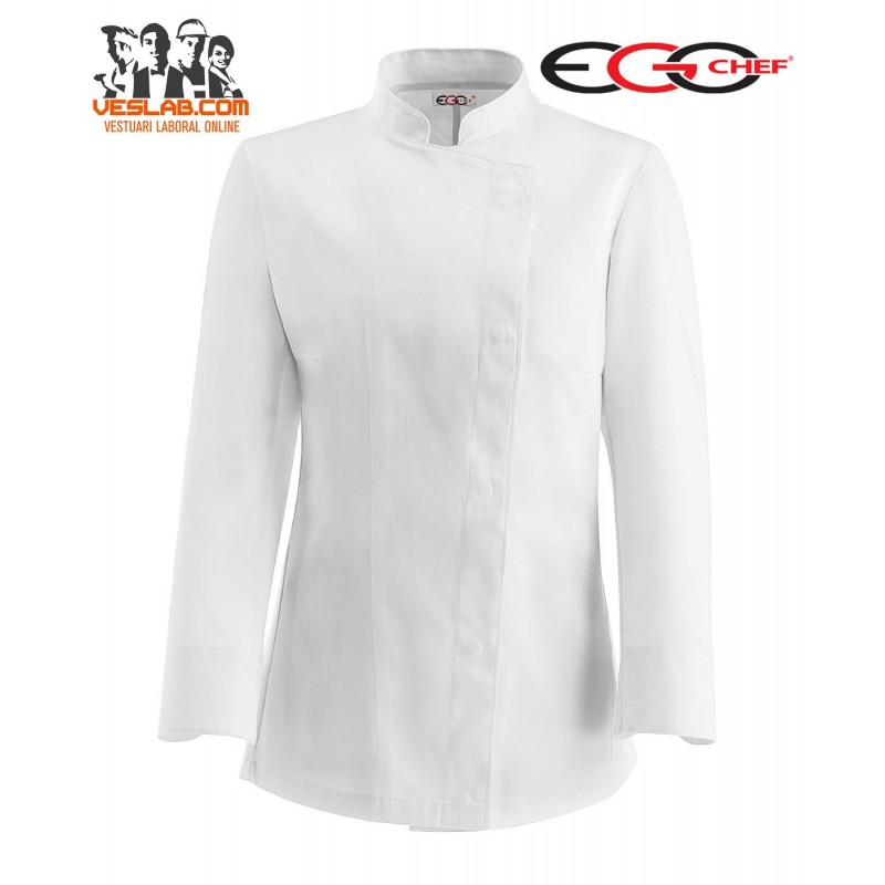 VESTE CUISINE SLIM FIT WHITE GIRL M/L