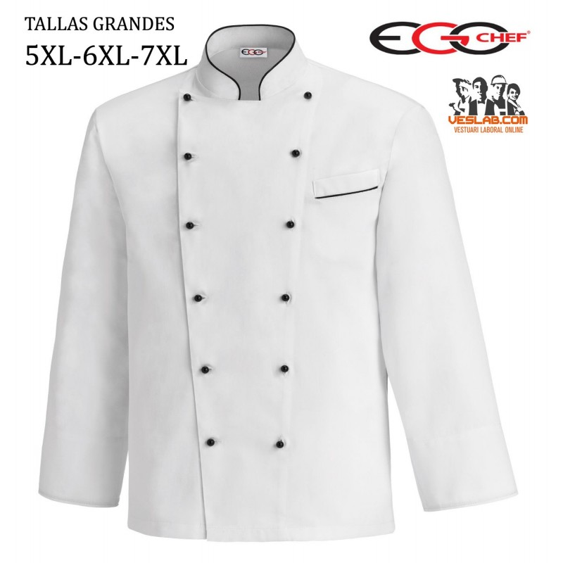 CHAQUETA WHITE FAT BOY TALLAS GRANDES