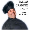 PANTALON EGOCHEF BIG BLACK TALLAS GRANDES