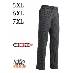 PANTALON EGOCHEF BIG BLACK TALLAS GRANDES