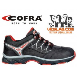 COFRA NEW RED EYE BLACK S3 SRC SAFETY TRAINERS