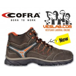COFRA NEW BRONX BROWN S3 SRC SAFETY TRAINERS