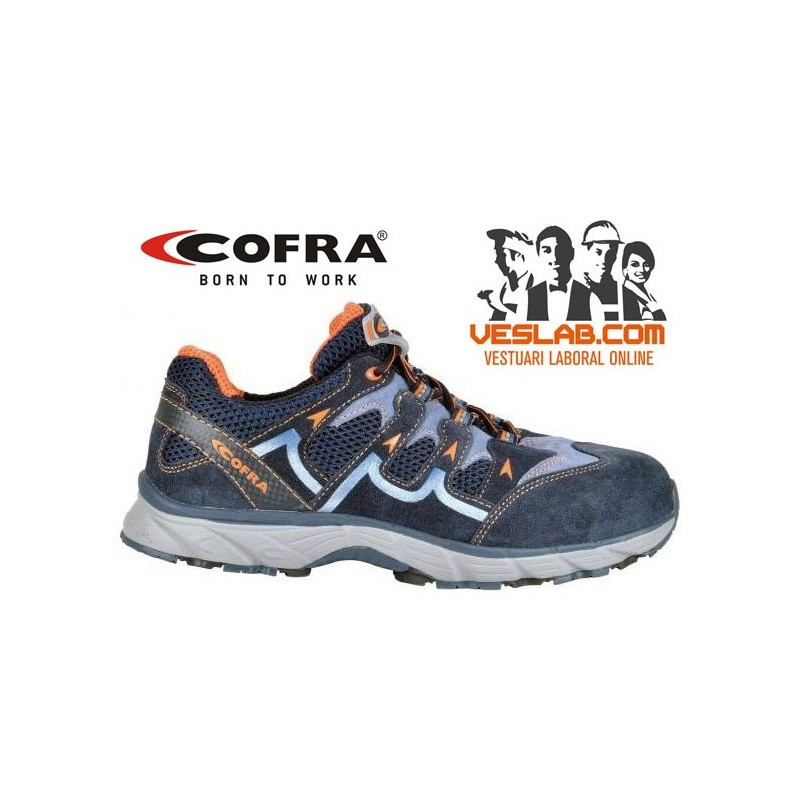 COFRA NEW BLADE BLUE S1 P SRC SAFETY TRAINERS