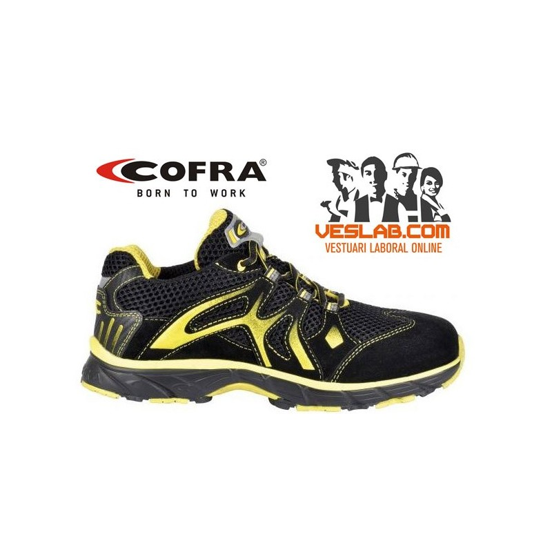 COFRA NEW DOGVILLE BLACK S1 P SRC SAFETY TRAINERS