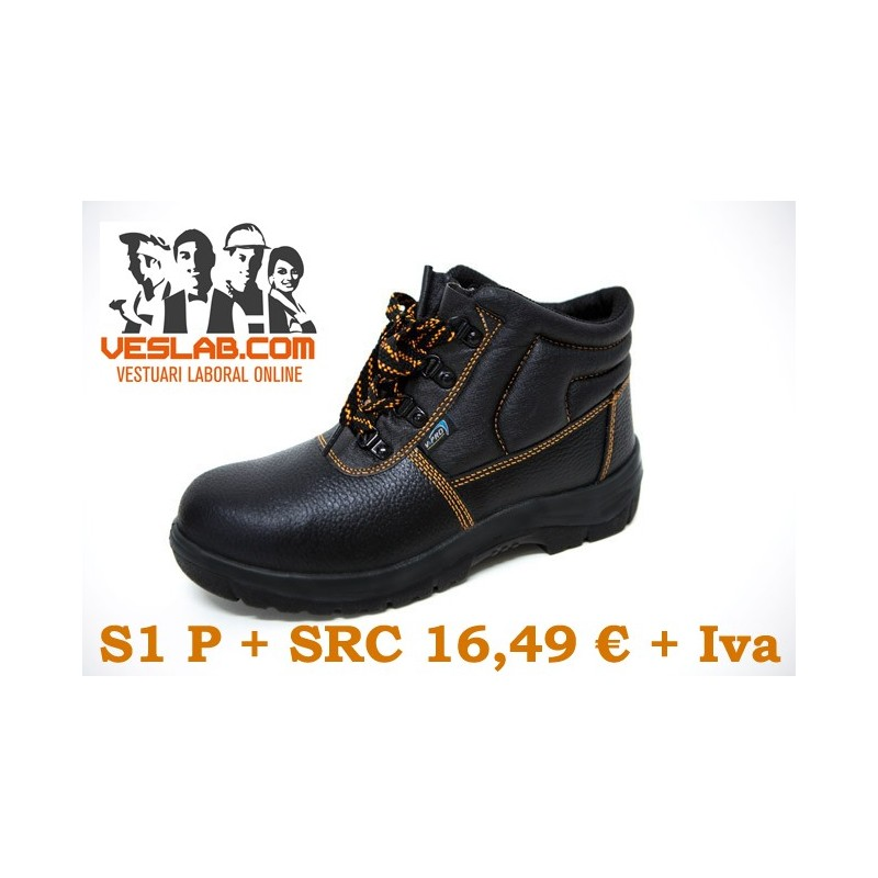 LEATHER SAFETY BOOTS S1P SRC