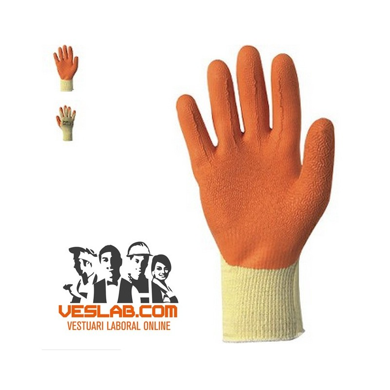 SHABU 200 COTTON-POLYESTER / LATEX GLOVES