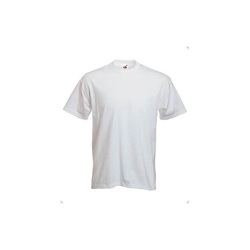 Camiseta Algodón Blanca Estampada 1 cara 1 color (mínimo 150 uds.)