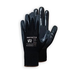 GUANTES TB Nitrilo Negro (Paquete 10 uds.)