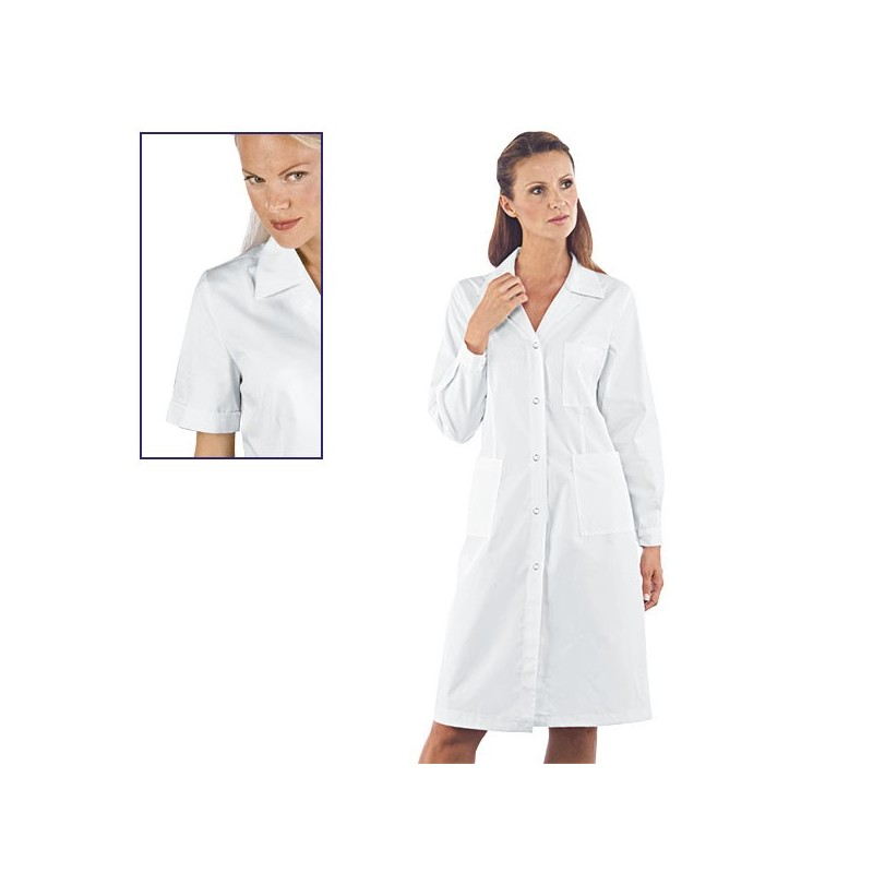 WOMEN'S COAT POPPERS SHORT SLEEVES
