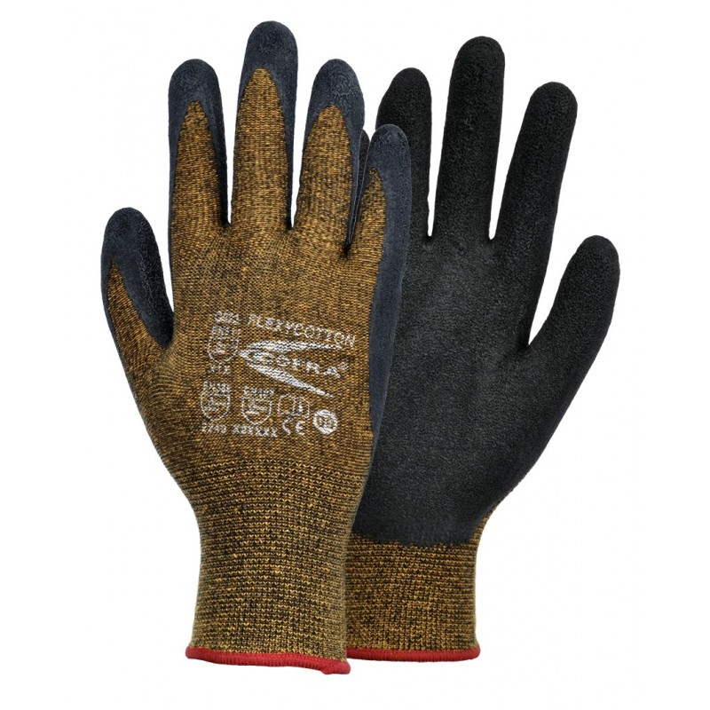 GUANTES COFRA FLEXYCOTTON (Látex)