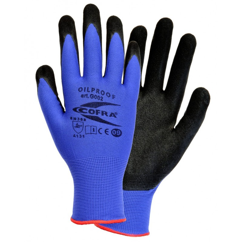 GUANTS COFRA OILPROOF (Nitril)