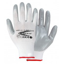 PACK 12uds.  GUANTES COFRA LABOUR (Nitrilo)