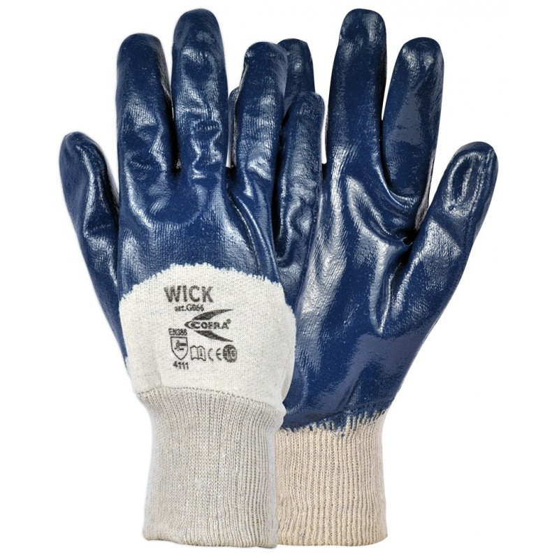 GUANTES COFRA WICK (Nitrilo) PAQUETE 12 uds.