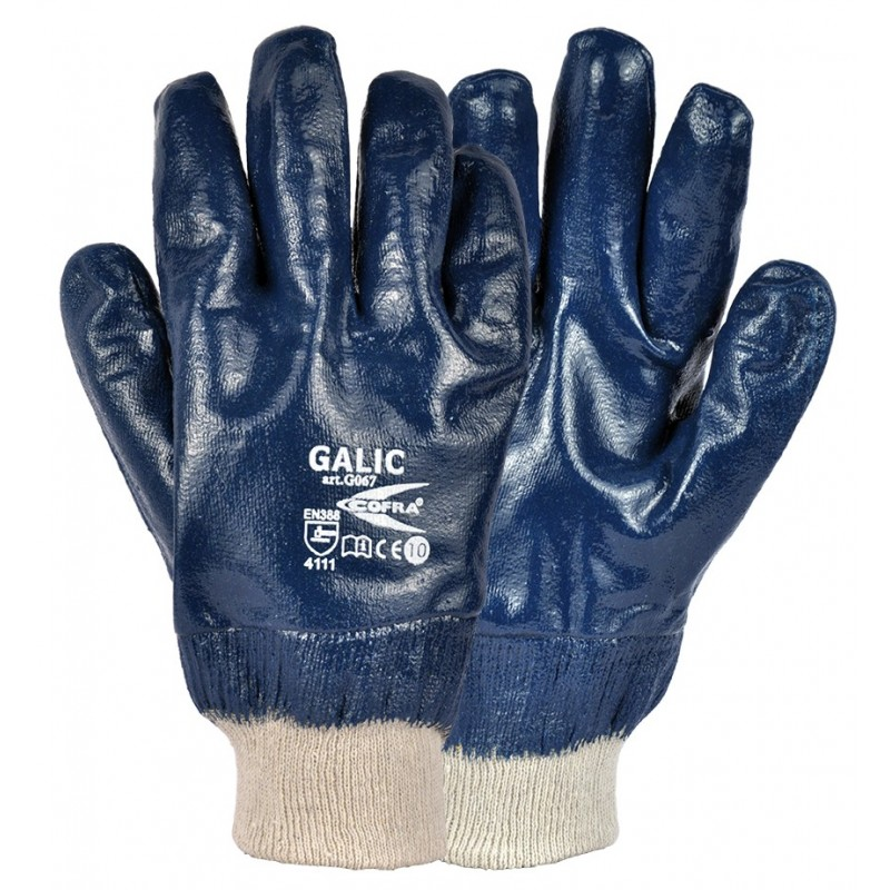 GUANTES COFRA GALIC (Nitrilo) PAQUETE 12 uds.