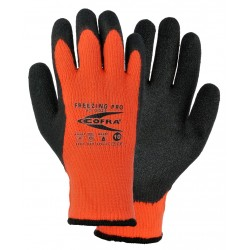 GUANTES ANTIFRÍO COFRA FREEZING PRO (Látex) Paquete 12 uds.