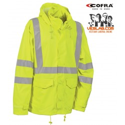 COFRA JACKET HIGH VISIBILITY MERIDA