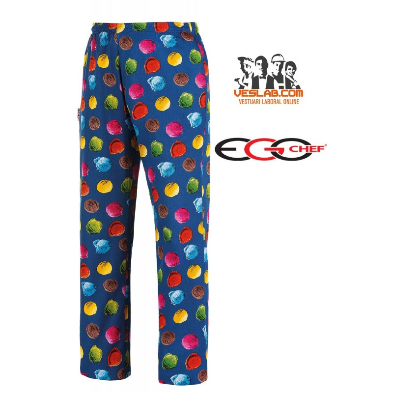 PANTALON EGOCHEF ICE CREAM