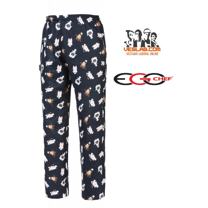PANTALON EGOCHEF PUPPIES