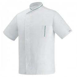 CHAQUETA COCINA WHITE ECO M/C