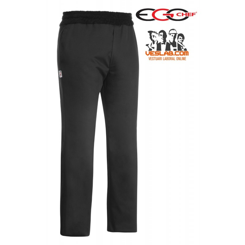 EGOCHEF FRESH BLACK BELT PANTS