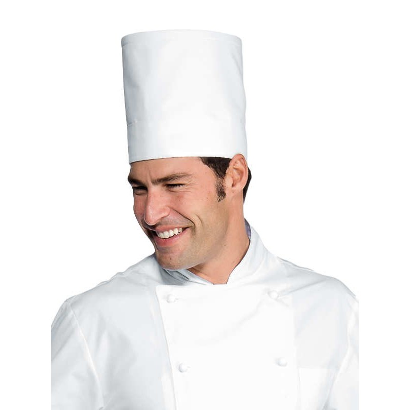 ISACCO WHITE CHEF HAT