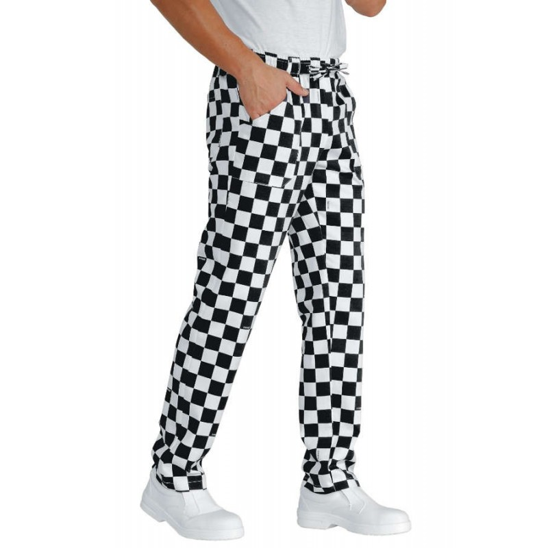ISACCO SCACCO TROUSERS