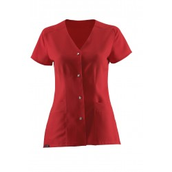 SHORT SLEEVES RED JACKET