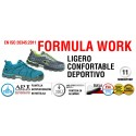 COFRA UPULP LIME S3 SRC SAFETY SHOES