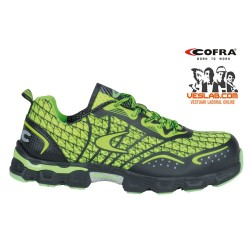 COFRA LOW KICK LIME S1 P SRC SAFETY SHOES