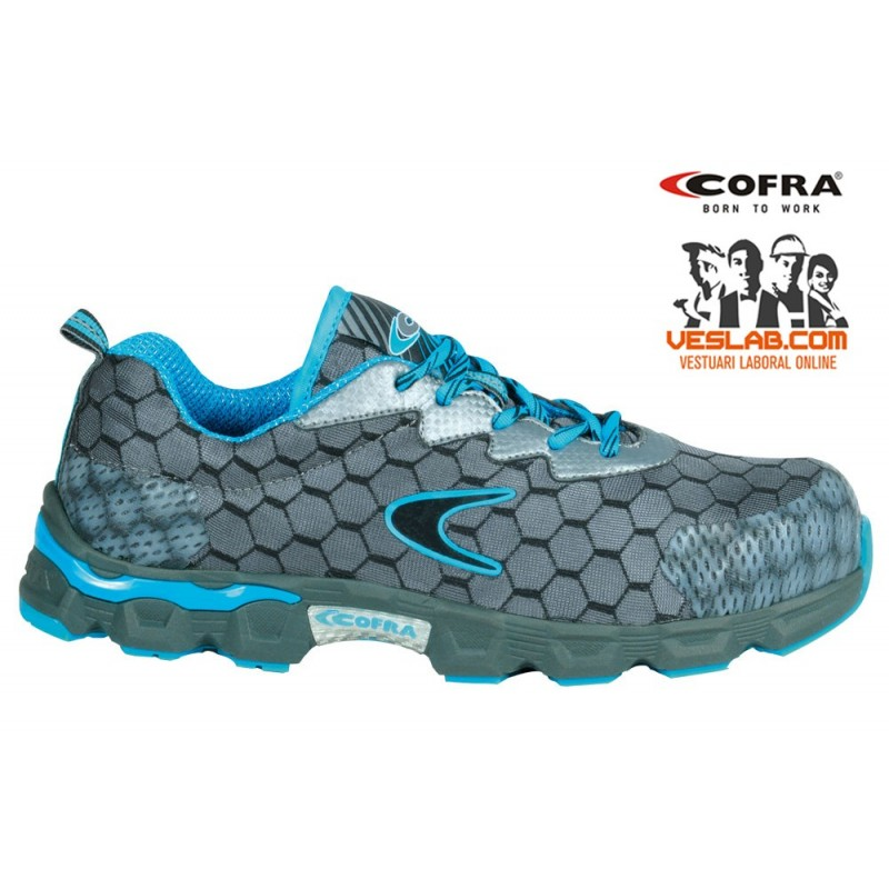 CALZADO COFRA LOW BALL GREY/ SKY S1P SRC
