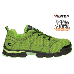 COFRA BEACH SOCCER LIME S1 P SRC SAFETY SHOES